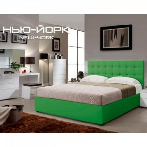 """Кровать Green Sofa Глейд """"Нью-Йорк"""" квадраты"""