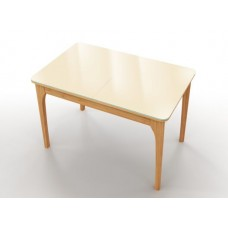 Раскладной стол на кухню Nord белый