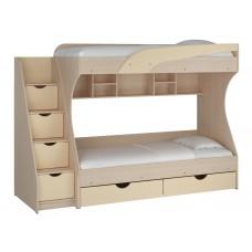 Двухъярусная кровать  Кадет (МДФ)