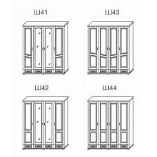 Шкаф 4-х дверный ТеМП