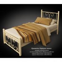 """Кровать Tenero """"Нарцисс"""" мини на деревянных ногах"""