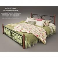 """Кровать Tenero """"Крокус"""" на деревянных ногах"""